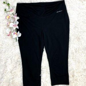 Eddie Bauer Workout Capri Black Size XL